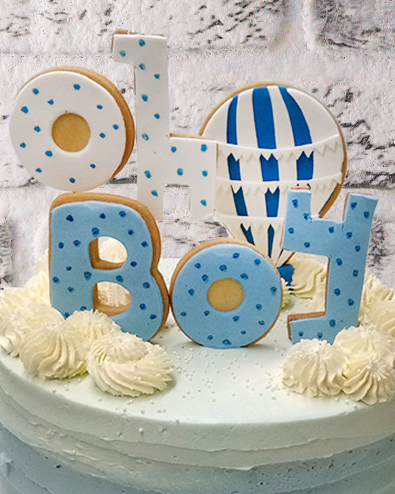 Blue Boy Doğum Günü Pasta  1
