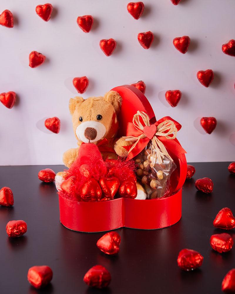 Sevgililer Günü Kalp Çikolata Kutusu