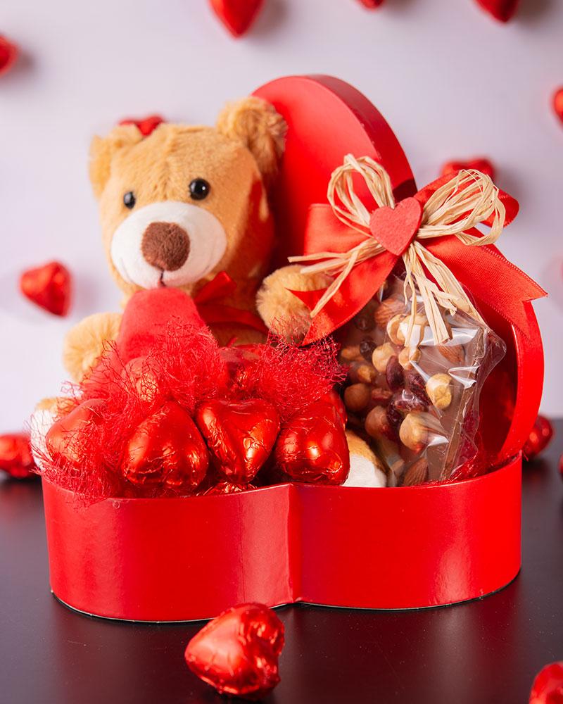 Sevgililer Günü Kalp Çikolata Kutusu   2