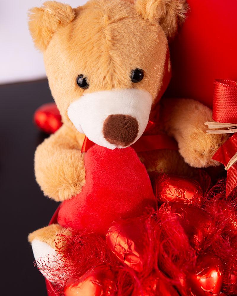 Sevgililer Günü Kalp Çikolata Kutusu   3