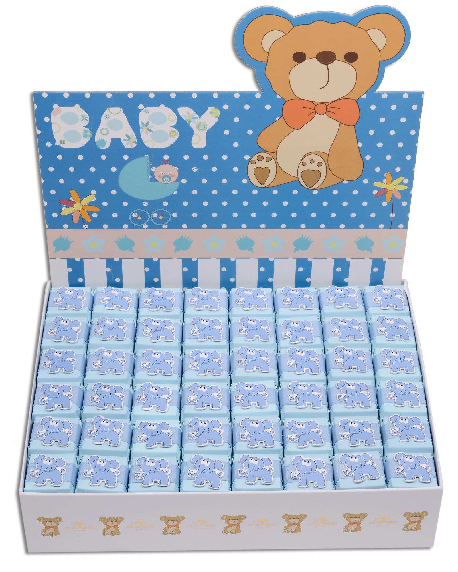 Mavi Kutulu Erkek Bebek Çikolatası