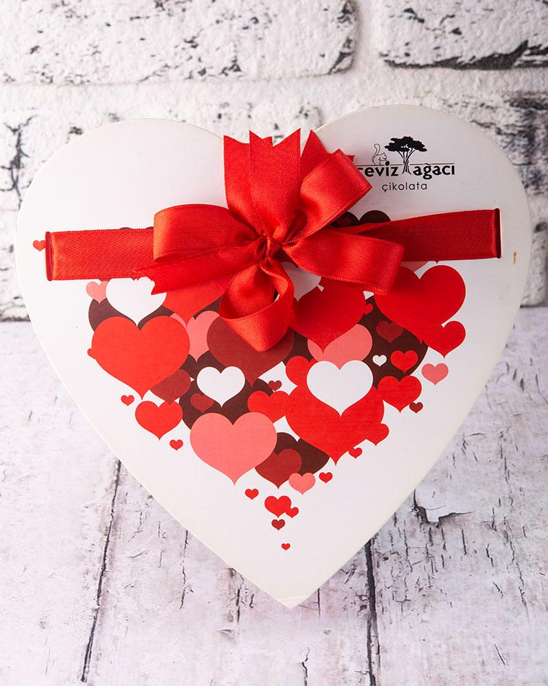 Kalp Sevgililer Günü Hediyesi