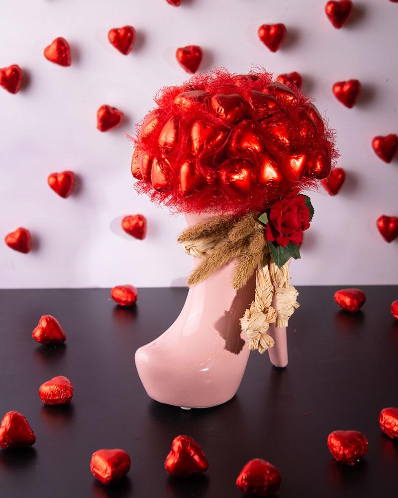 Porselen Ayakkabı Çikolata  3