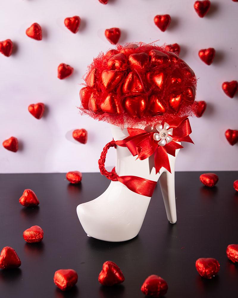 Porselen Ayakkabı Çikolata  7