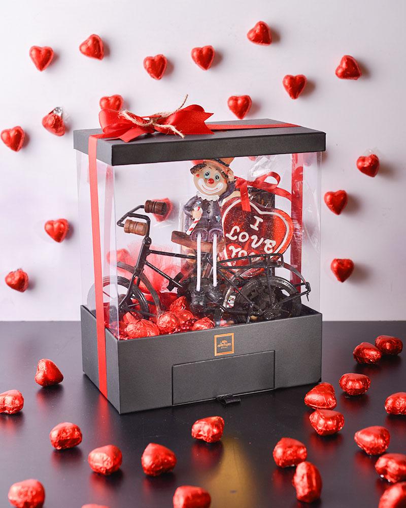 Tasarım Sevgililer Günü Özel Çikolata