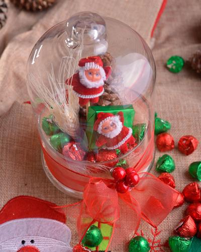 2'li Noel Baba Hediyelik Yılbaşı Çikolatası 3