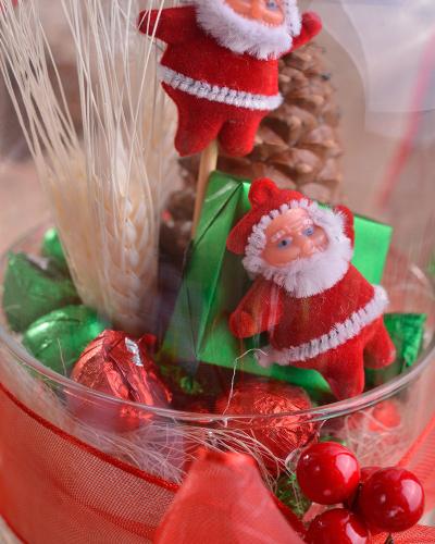 2'li Noel Baba Hediyelik Yılbaşı Çikolatası 4