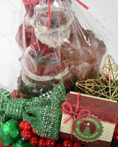 4'lü Noel Baba Hediyelik Yılbaşı Çikolatası 4
