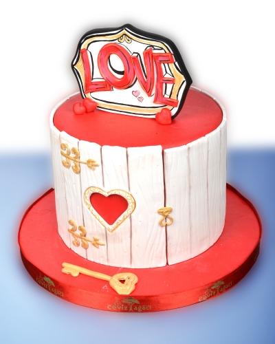 Altın Anahtar Doğum Günü Pastası 1