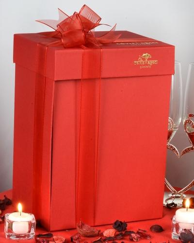 Bağcıklı Çizme Sevgiliye Çikolata 3