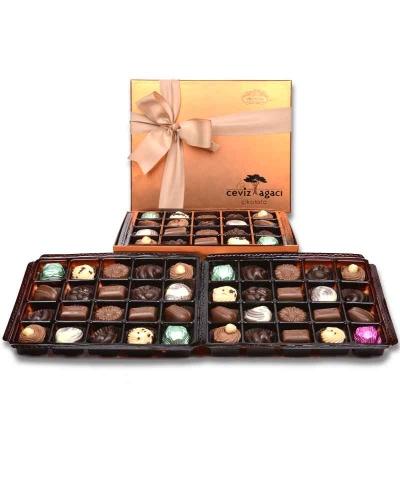 Bakır 60'lı Çikolata Kutusu 1