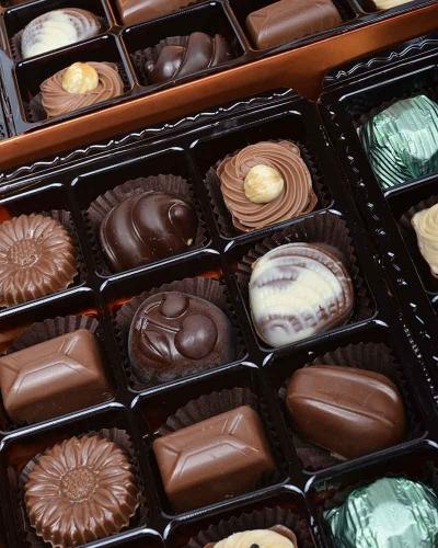 Bakır 60'lı Çikolata Kutusu 2