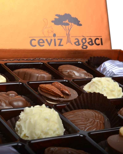 Bakır 60'lı Çikolata Kutusu 4