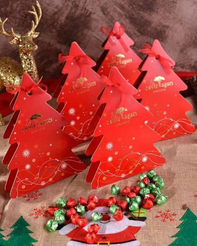 Çam Ağacı Yılbaşı Çikolatası 1