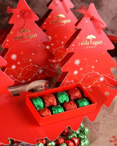 Çam Ağacı Yılbaşı Çikolatası 4