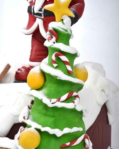 Çam Ağacı Yılbaşı Pastası 4