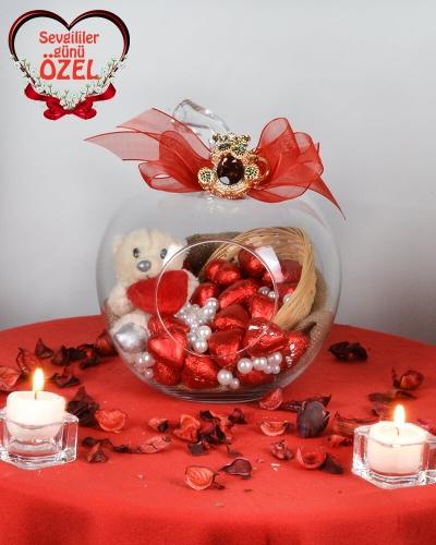 Cam Elma Sevgililer Günü Hediyesi 1