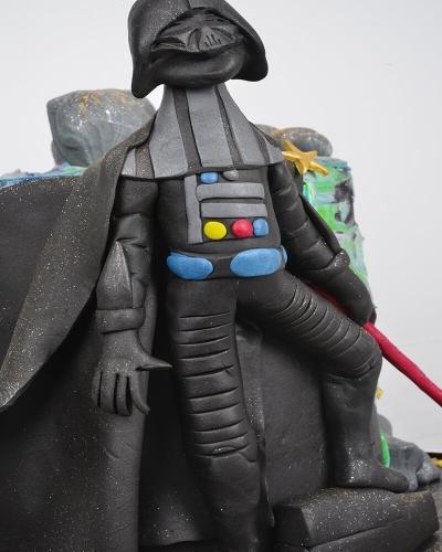 Dart Vader Star Wars Doğum Günü Pastası 2