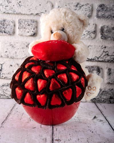 Ayıcık Sevgililer Günü Çikolatası 2