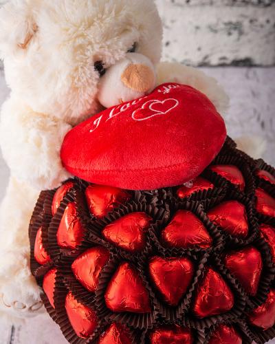 Ayıcık Sevgililer Günü Çikolatası 3