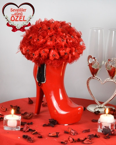 Fermuar Çizme Sevgiliye Çikolata 1