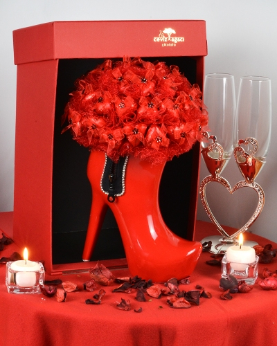 Fermuar Çizme Sevgiliye Çikolata 2