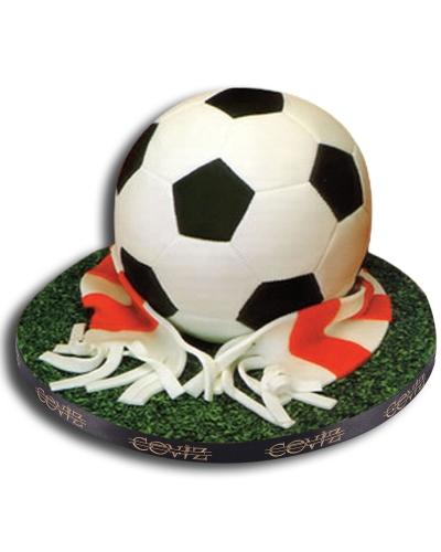 Futbol Topu Doğum Günü Pastası 1