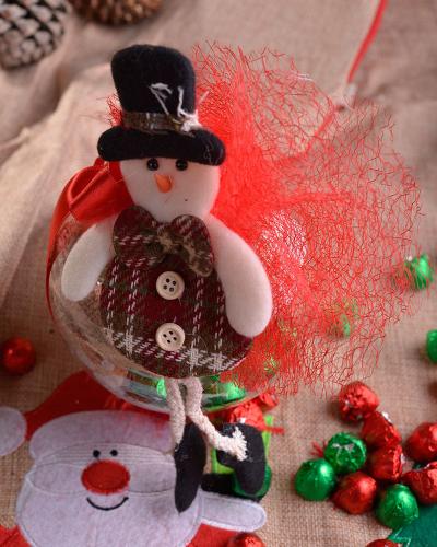 Happy Holidays Küçük Yılbaşı Çikolatası 2