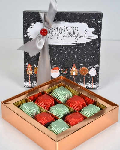 Happy Holidays Küçük Yılbaşı Çikolatası 1