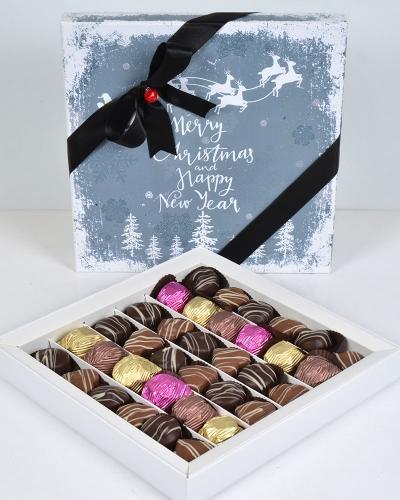 Happy New Year Büyük Yılbaşı Çikolatası 1