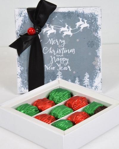 Happy New Year Küçük Yılbaşı Çikolatası 1