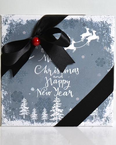 Happy New Year Orta Yılbaşı Çikolatası 3