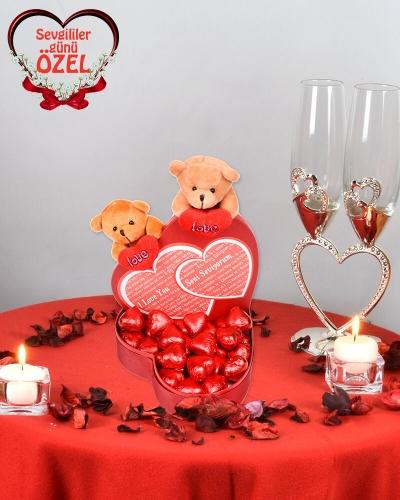 Her Dilde Seni Seviyorum Sevgiliye Çikolata 1