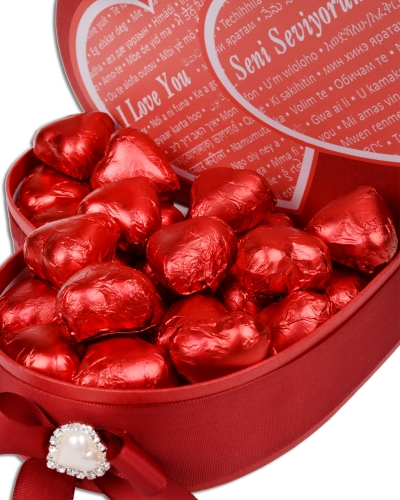 Her Dilde Seni Seviyorum Sevgiliye Çikolata 4