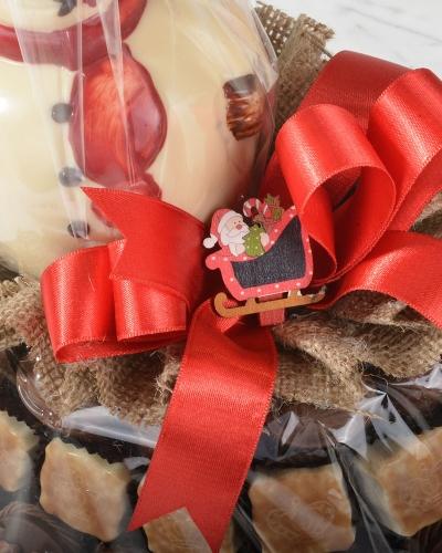 İkiz Noel Baba Yılbaşı Çikolatası 4