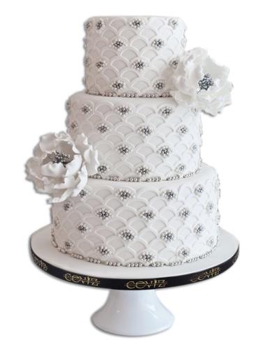 İnci Düğün Pastası 1