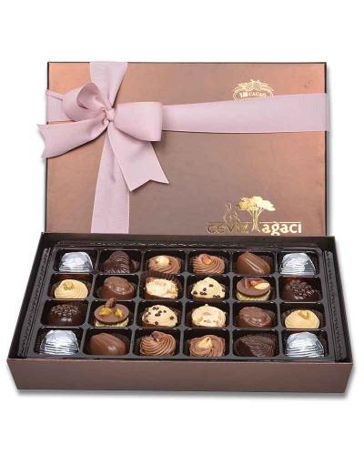 Kahverengi 24'lü Bayram Çikolatası 1