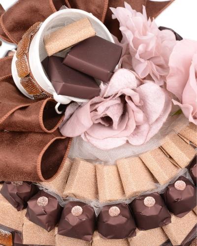 Kelebek Kase Söz Nişan Çikolatası 3