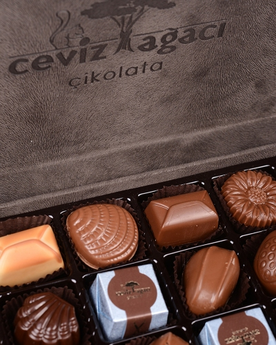 King Special Gri Çikolata Kutusu 2