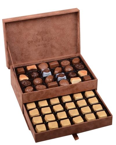King Special Kahverengi Çikolata Kutusu 1