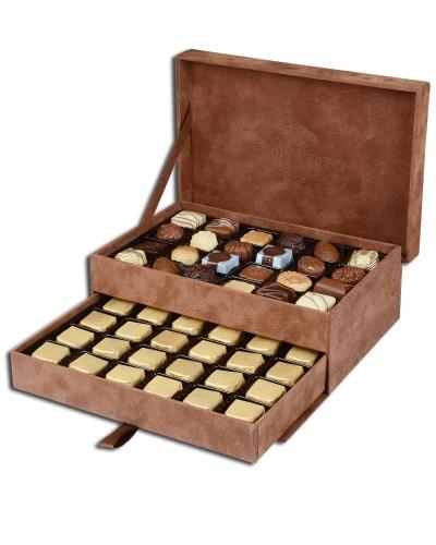 King Special Kahverengi Çikolata Kutusu 3