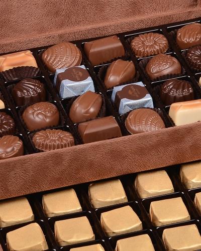 King Special Kahverengi Çikolata Kutusu 4