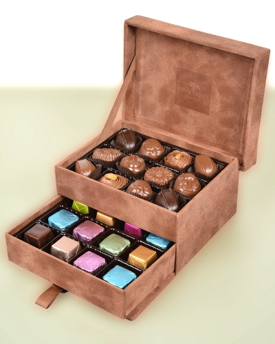 King Special Küçük Kahverengi Çikolata Kutusu 2