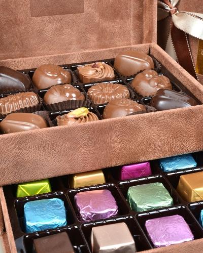 King Special Küçük Kahverengi Çikolata Kutusu 4