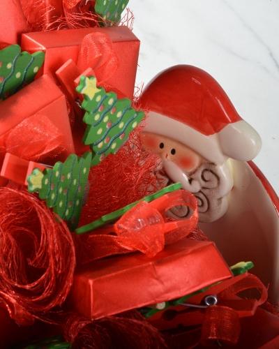 Kırmızı Gül Kapaklı Yılbaşı Çikolatası 4
