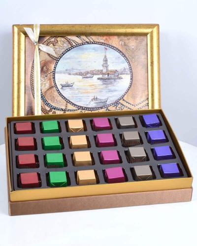 Kız Kulesi 24'lü Çikolata Kutusu 1
