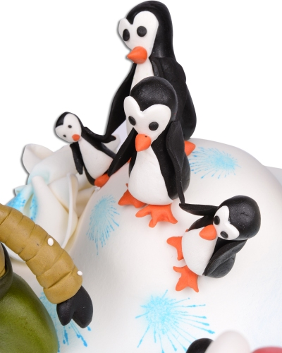 Kutuplar Doğum Günü Pastası 4
