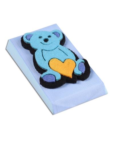 Mavi Ayıcık Bebek Çikolatası 1