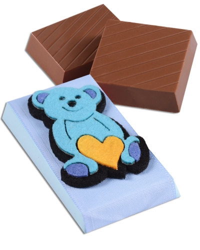 Mavi Ayıcık Bebek Çikolatası 2