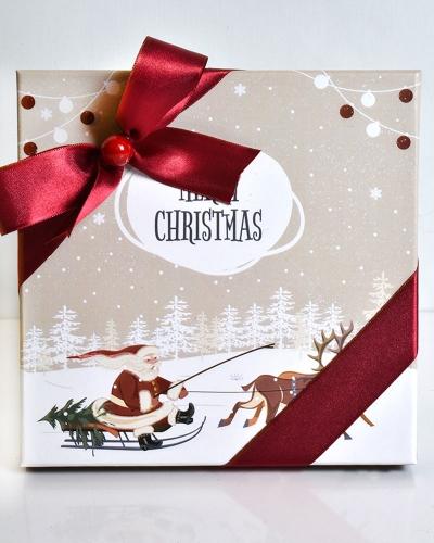 Merry Chritsmas Orta Yılbaşı Çikolatası 3